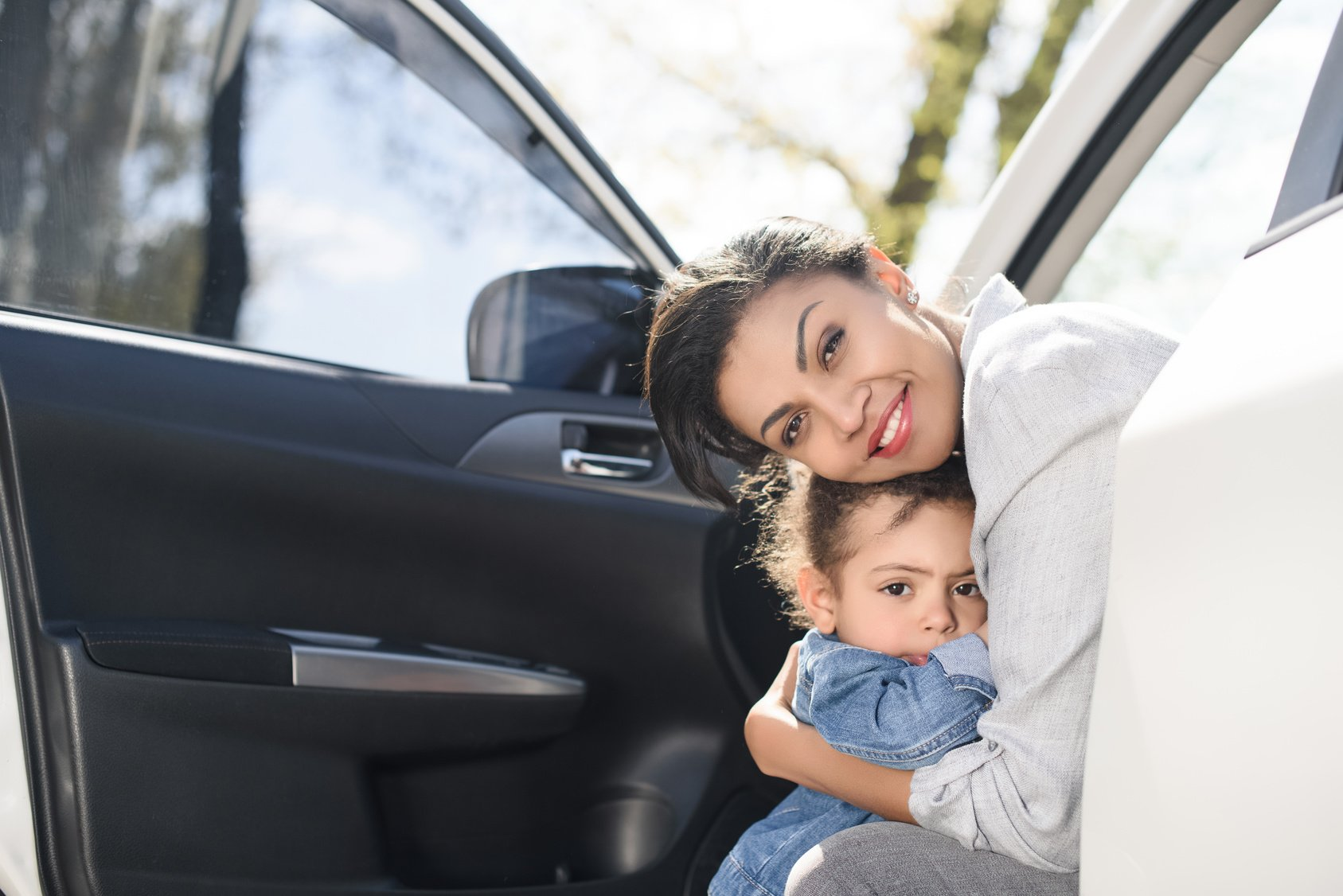 mother helped with donated car